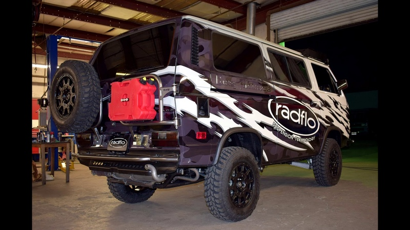 Burley Motorsports VW Syncro Build for SEMA Show 2019
