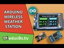 Arduino Project: Wireless Weather Station using Arduino Due, DHT22 sensor and NRF24L01 modules!