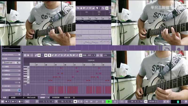 活动作品【战双帕弥什】用电吉他打开战双帕弥什 黑星坠落活动BGM C.O.R.E