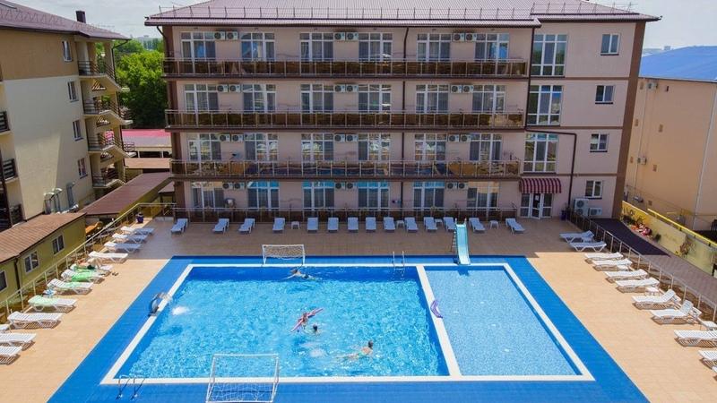 Отель Гранд Прибой Анапа