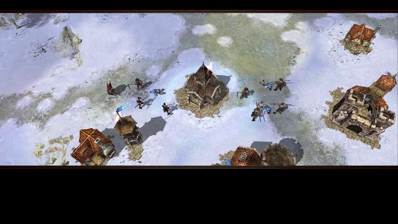 Скоростное прохождение Armies of Exigo кампания за империю 5 миссия скорость х5