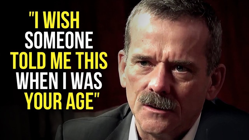 Chris Hadfield's Life Advice Will Leave You SPEECHLESS One of the Most Eye Opening Speeches