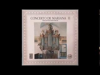 LP Concerto de Mariana II - Tricentenário Bach (1985)