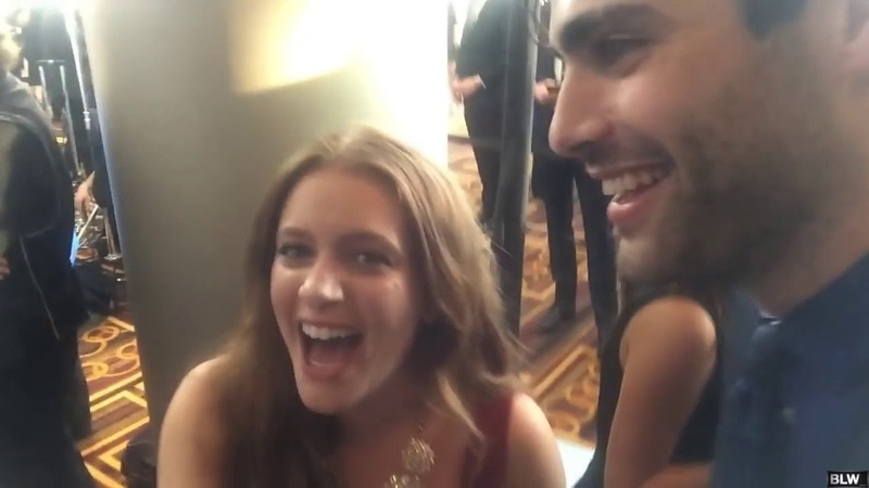 Matthew Daddario getting embarrassed by compliments