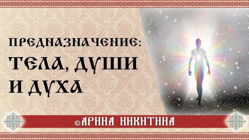 Предназначение тела души и духа Арина Никитина