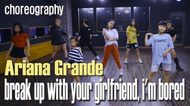 회원영상 break up with your girlfriend i'm bored Ariana Grande Choreography AJ 경주댄스타운학원