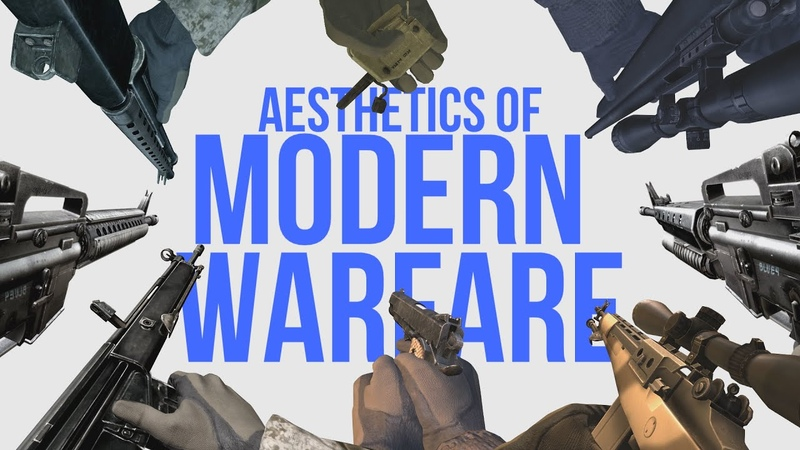 Aesthetics of Modern Warfare.