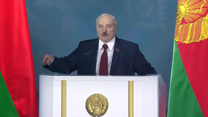 Послание Лукашенко к народу Белоруссии накануне выборов Прямая трансляция