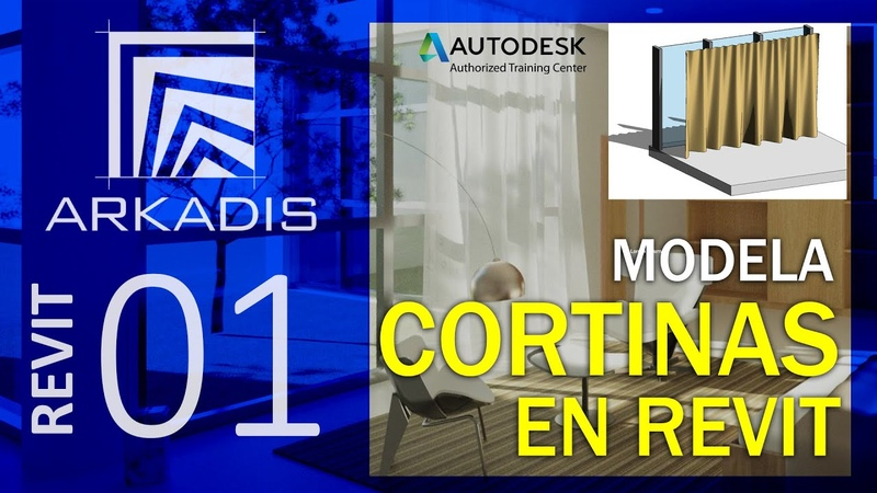 CORTINAS CON REVIT How to model a curtain in Revit Arkadis