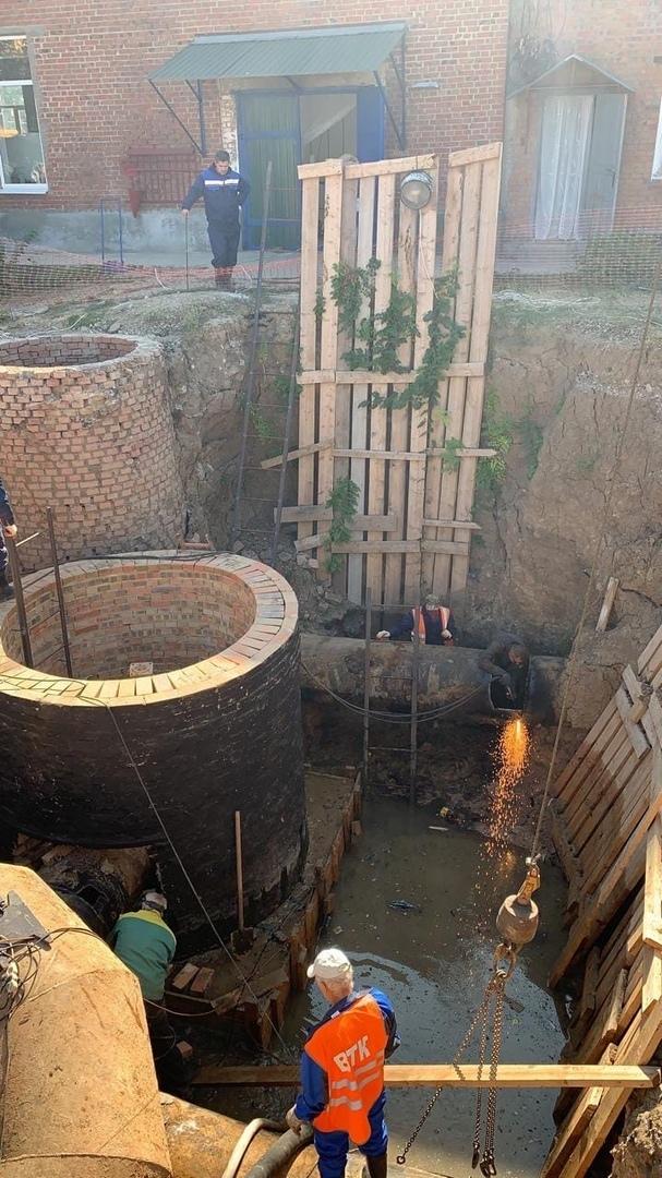 О ходе работ «Водоканала» на Донском техническом водоводе