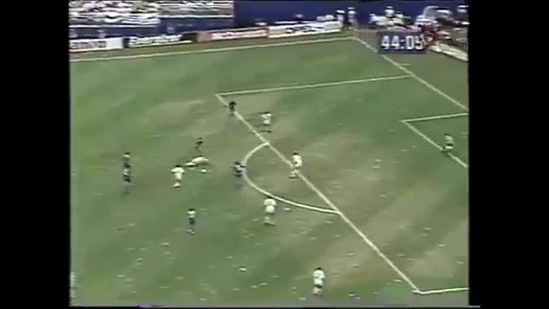 Хет трик Габриэля Батистуты в матче со сборной Греции 21 июня 1994 г Чемпионат мира в США Аргентина 4 0 Греция