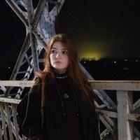 Фотография страницы Дарьи Кругловой ВКонтакте