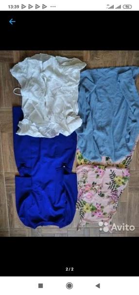 Отдам вещи 42 размера ( 2 пиджака розового и бежев...