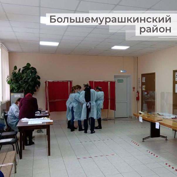 Наблюдатели из Нижегородской области во всю делятс...