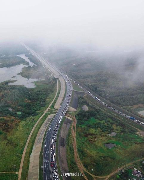 Пробки на Борском мосту должны исчезнуть через нед...