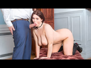 Effie Diaz - Curvy College Girl Seduces The Teacher (Teen, Big Ass, Big Tits, Blowjob, Brunette, Curvy, European, Schoolgirl)