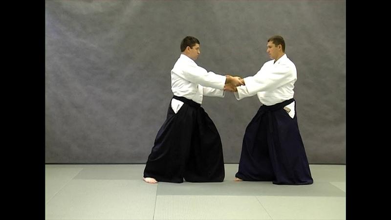Ryote dori Справочник техник айкидо Aikido techniques reference