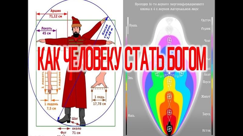 Как Человеку Снова Стать Богом Главные Тайны Тела Души и Духа