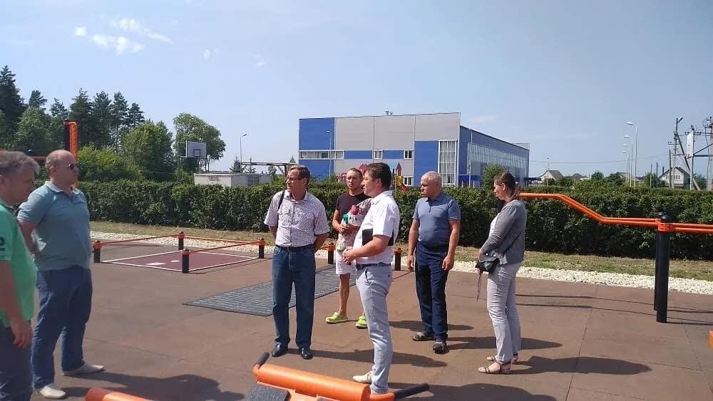 В Петровске провели ревизию новой площадки для сдачи норм ГТО