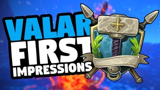 Valar First Impressions New MMORPG Open World, Crafting, Pve, PvP, Sandbox, Archetypes