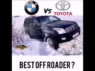 БМВ против Тойоты. Кто лучший внедорожник
