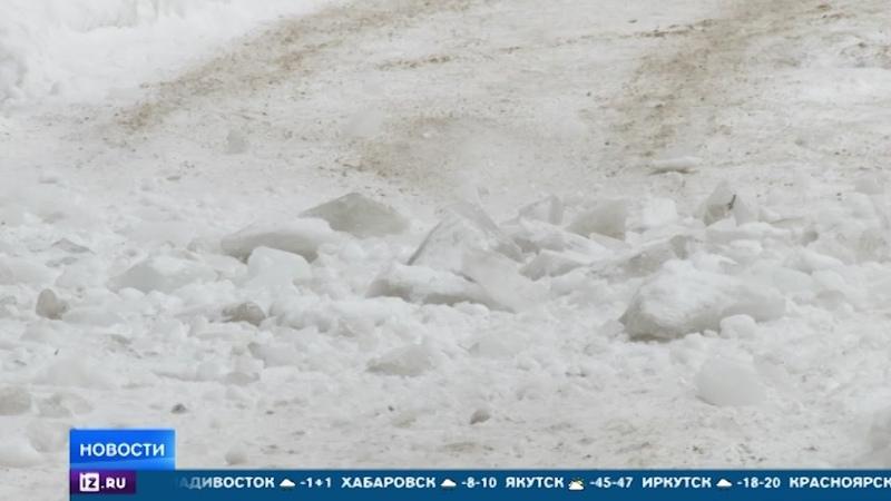 Почему лед и снег стали смертельно опасными в России