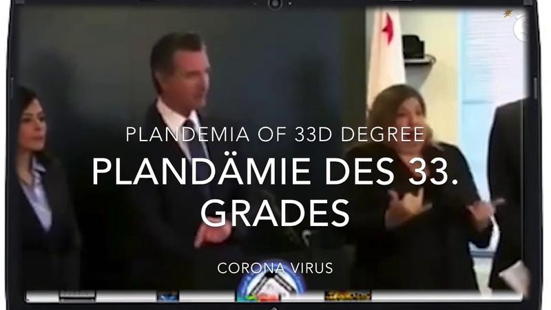 Illuminati Freimaurer Verschwörungstatsache Plandämie des 33 Grades