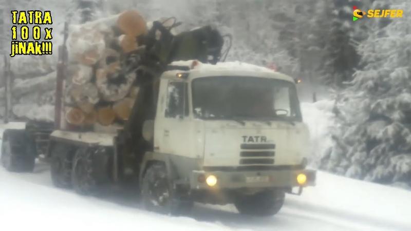 TATRA 100x jinak TATRA 815 zvládá těžkou práci v Rumunsku