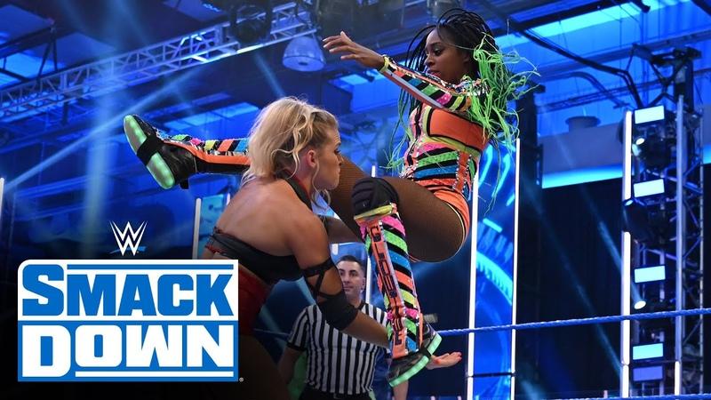 Naomi vs Lacey Evans SmackDown July 31 2020
