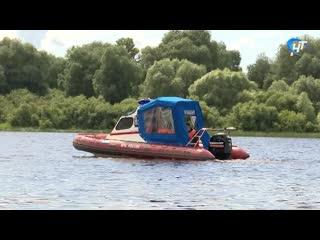 Новгородские спасатели вышли в очередной рейд на воду