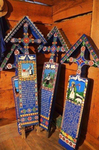 На крайнем северо-западе Румынии, буквально в двух километрах от границы с Закарпатской областью Украины, на берегу Тисы находится село Сэпынца, где люди научились воспринимать смерть с улыбкой