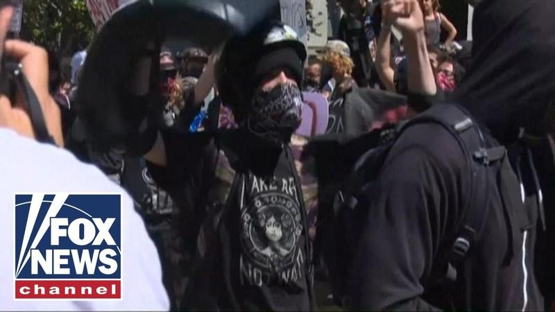 Trump says US will label Antifa as a terrorist organization