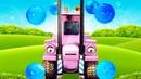 Мультики про машинки истройку— Магнетическая Притягательная Кэрри— Синий Трактор допускает ошибку