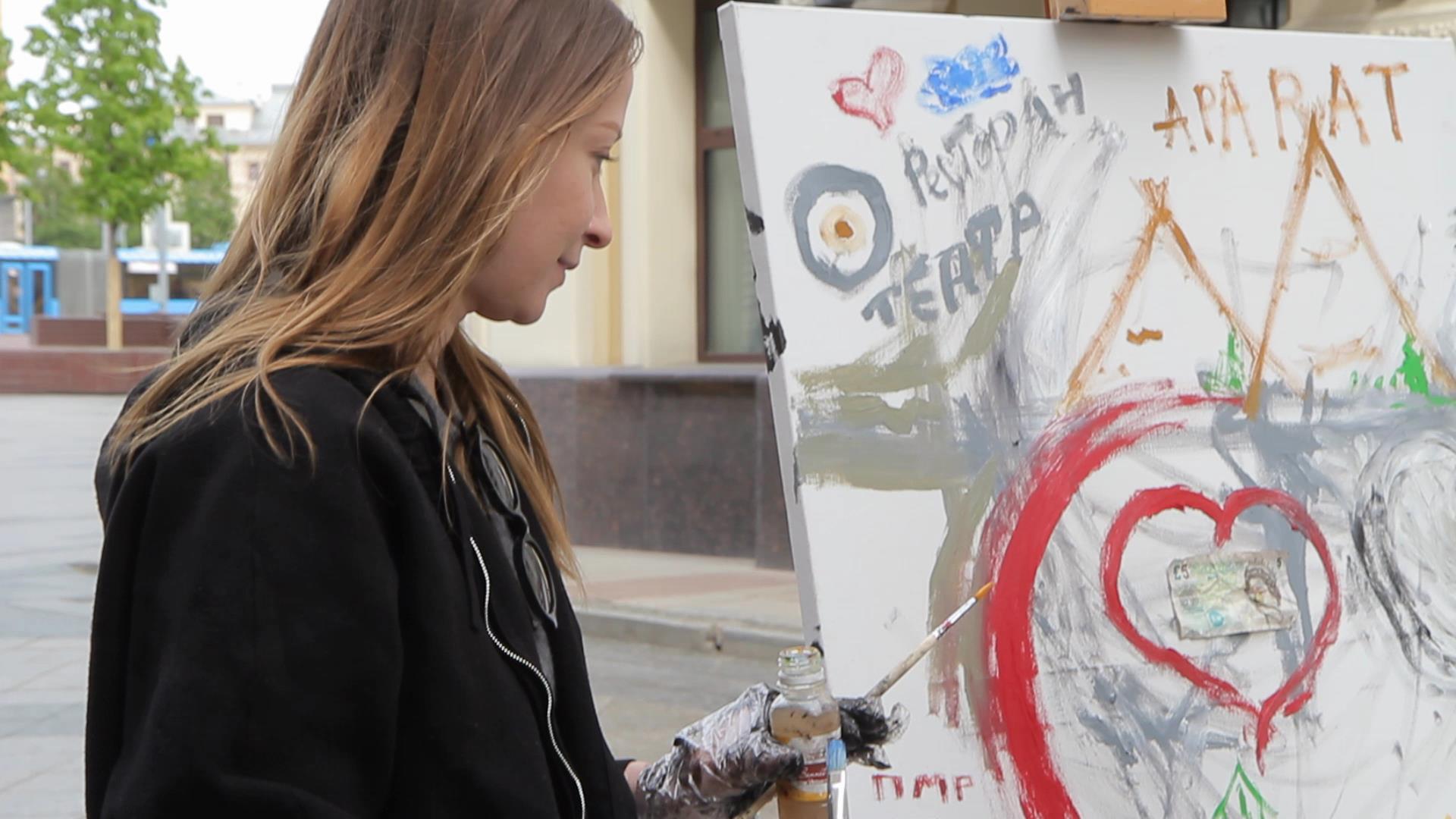 Манифест: из клетки наружу Урок Искусства от российского художника Нат Апанай