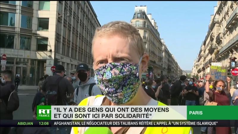 Gilets jaunes à Paris C'est un magnifique mouvement Nous ne sommes pas des casseurs