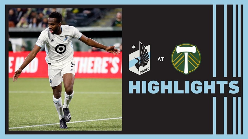 Molino and Amarilla Lead Loons to Victory MNUFC at Portland Timbers Highlights