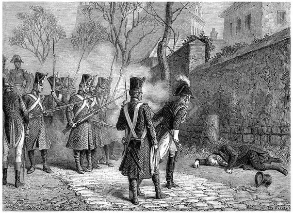Мишель Ней Есть исторические свидетельства, согласно которым в средние века у некоторых народов практиковалась своеобразная милость по отношению к поверженным врагам, заслужившим уважение своей