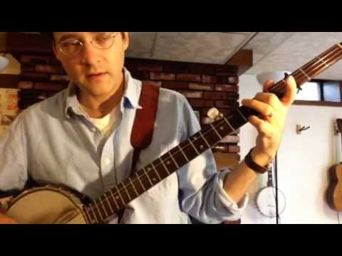 Seeger Style Banjo Intro in C Tuning