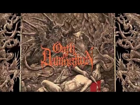 Oath of Damnation I Curse Thee O Lord Official Lyric Video Black Death Metal Australia