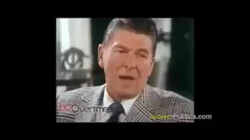 Рейган Если фашизм придёт в Америку он будет называться либерализмом mp4