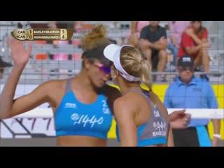 BRILLIANT KILL BLOCKS by Brandie Wilkerson! - Team of the Week | Beach Volleyball World