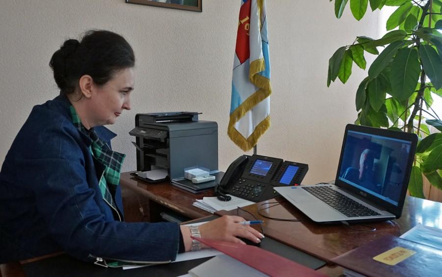Глава города Таганрога Инна Титаренко провела очередной онлайн-приём граждан