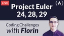 Project Euler Challenges 24, 28, 29 - Coding Challenges with Florin