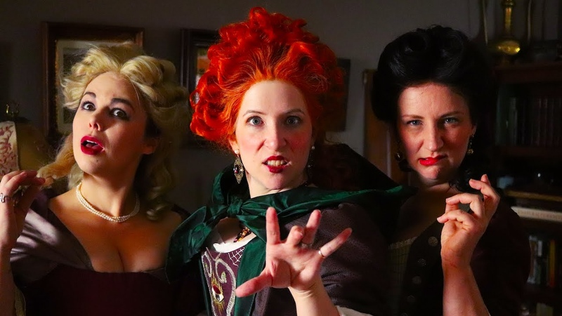 Sewing a Historically Accurate Hocus Pocus Cosplay Finished