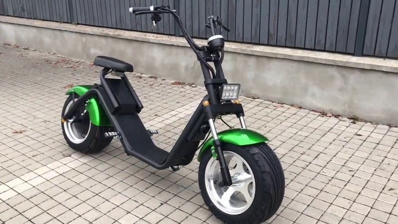 2019 Harley Nitro scooters Futura 3000W green metalic