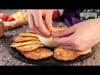 Оладьи с начинкой - составят конкуренцию даже самой вкусной пицце!