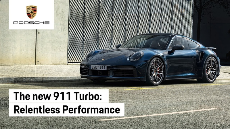 The new 911 Turbo Relentless