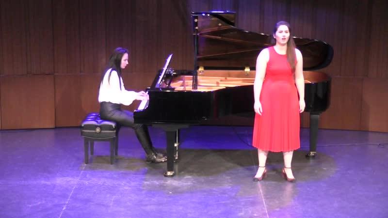 Henri Dutilleux 'Chanson de la deportée' 1945 Arianne Cossette soprano Наталия Бабанова фортепиано