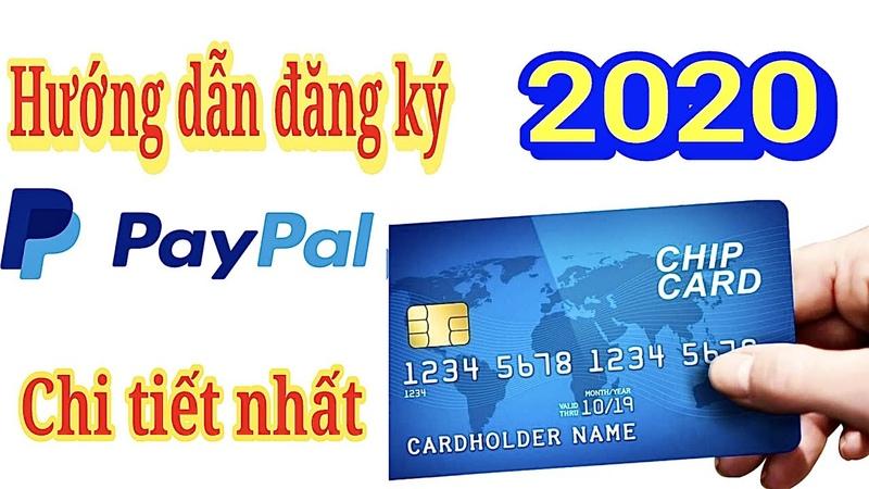 Hướng Dẫn Đăng Kí Paypal 2020 Liên Kết Thẻ Ngân Hàng Chi Tiết Nhất