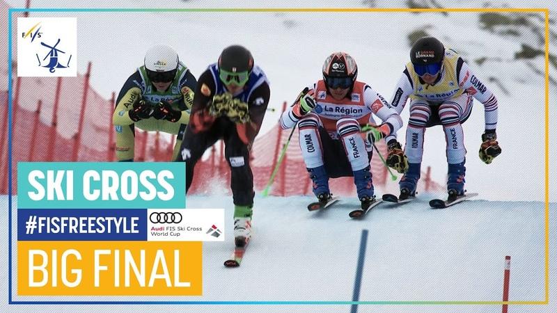 Jonathan Midol wins on home soil | Mens Ski Cross | Val Thorens | FIS Freestyle Skiing